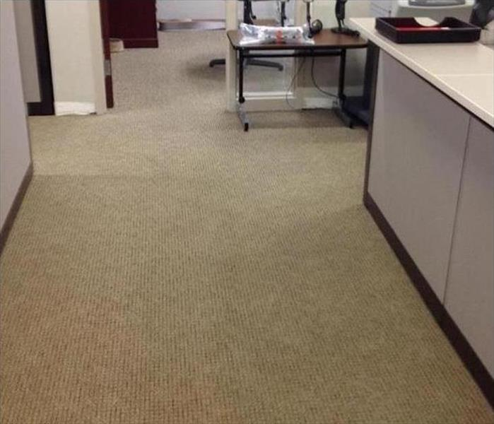 Dallas Office Gets Wet from a Water Leak After