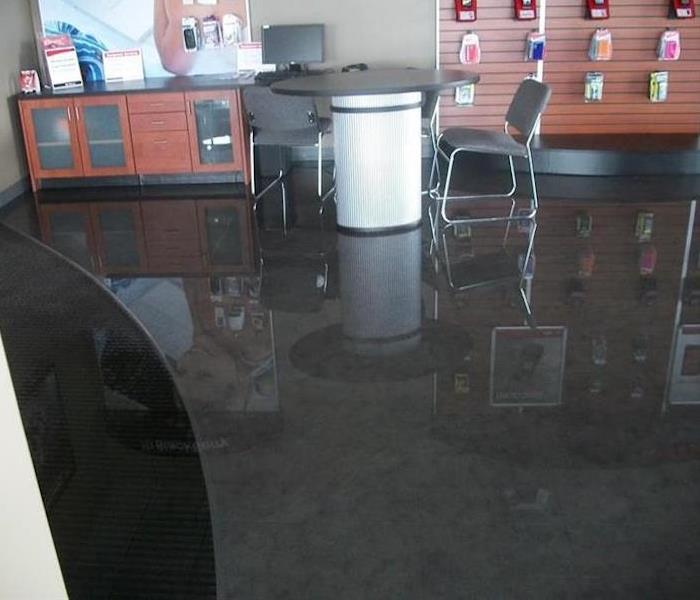 Commercial Water Damage – Dallas Retail Store