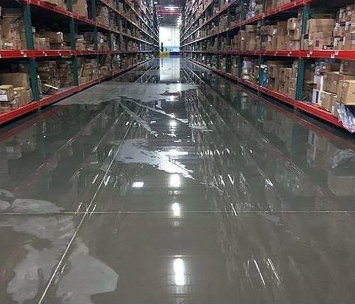 Commercial Water Damage In Northwest Dallas