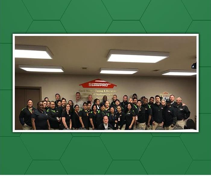 The SERVPRO of Northwest Dallas team is ready to help