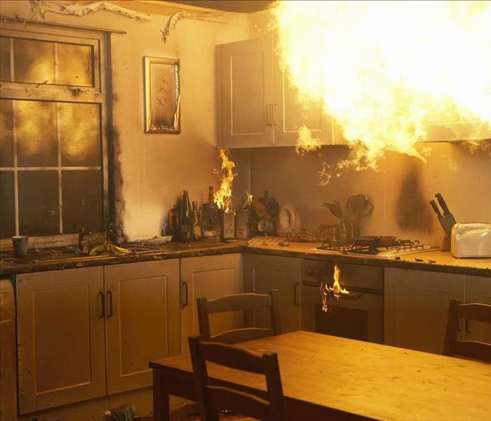 Fire Damage Our Qualified Technicians Are Ready To Restore Your Dallas Fire Damage