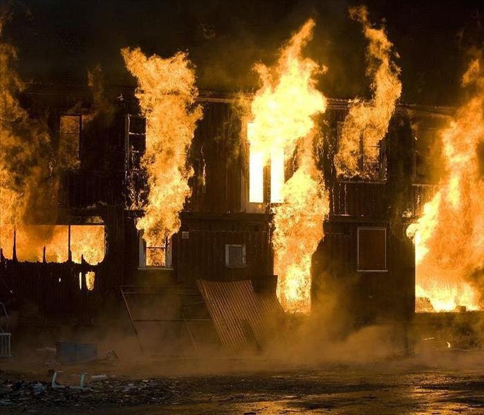 Fire Damage High and Dry Summer Heat Can Make Fires Burn Easier in Your Dallas Home