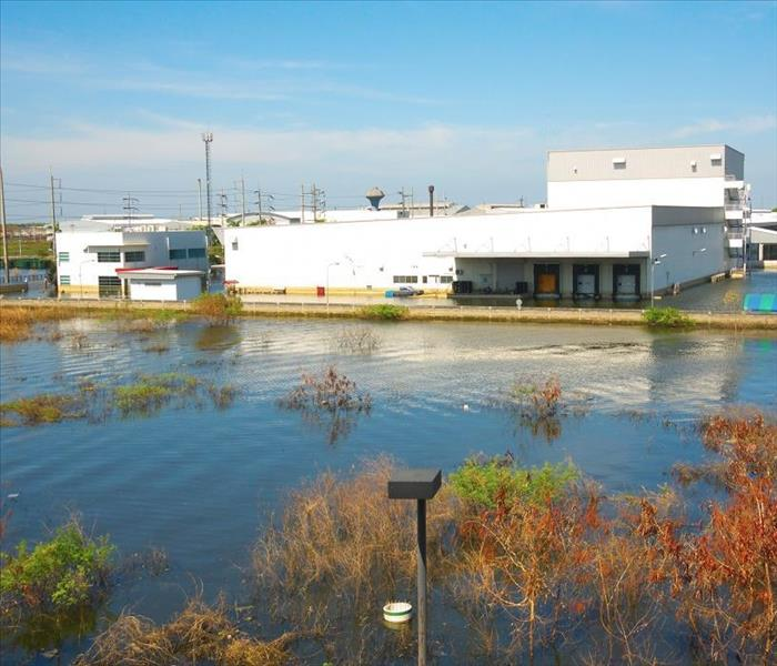 Commercial Flood Damage in Your Dallas Warehouse from Storms