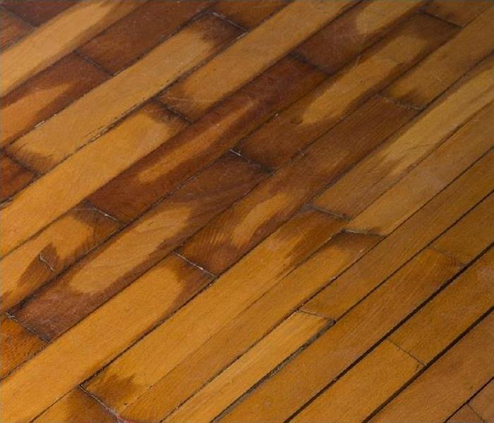 Water damaged hardwood floors